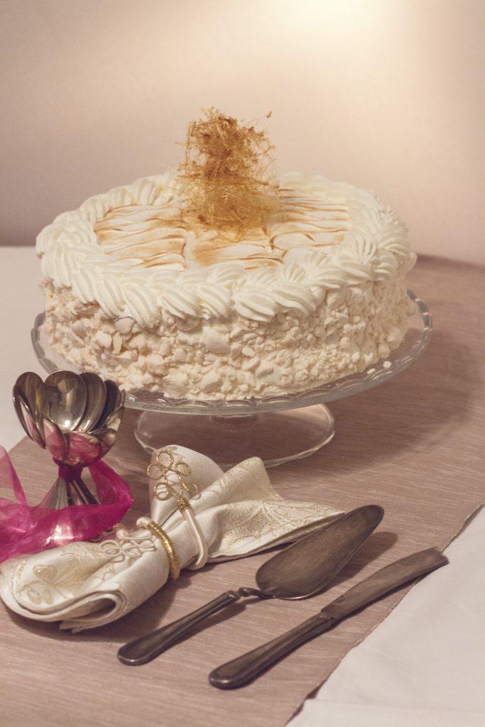 ricetta torta meringata
