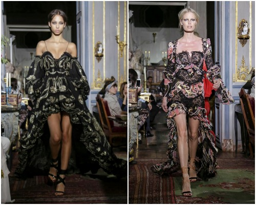 Peter Dundas debut collection in Paris Couture Week
