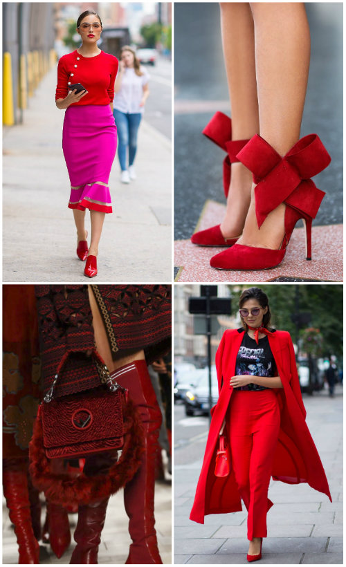 Fall 2017 trend red
