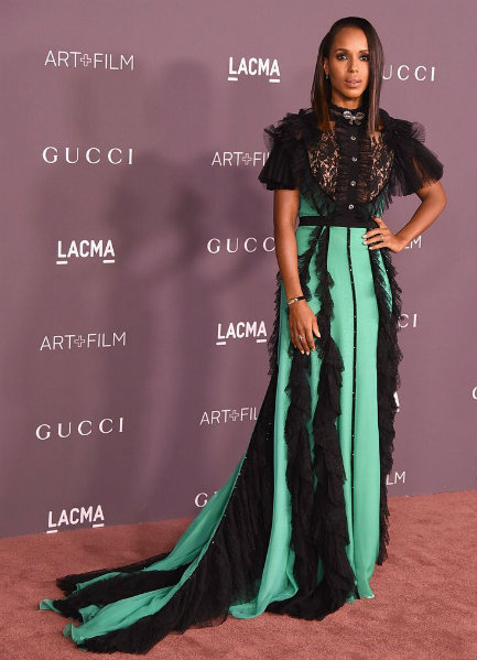 Kerry Washington in Gucci at LACMA Art + Film Gala 2017