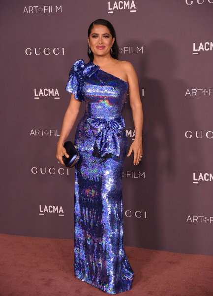 Salma Hayek in Gucci at LACMA Art + Film Gala 2017