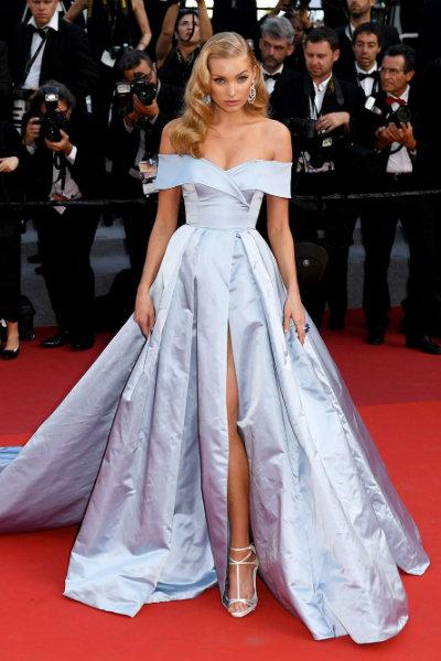 Elsa Hosk Cannes Alberta Ferretti