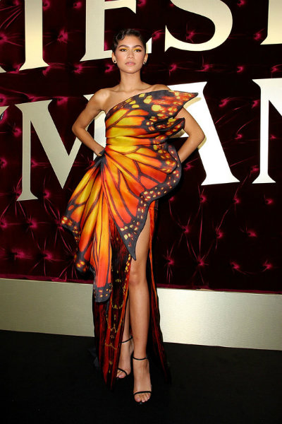 Zendaya-Moschino-butterfly-dress