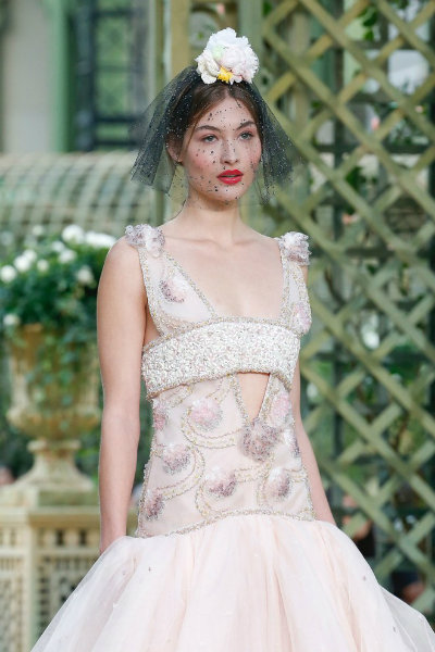 chanel spring 2018 couture paris