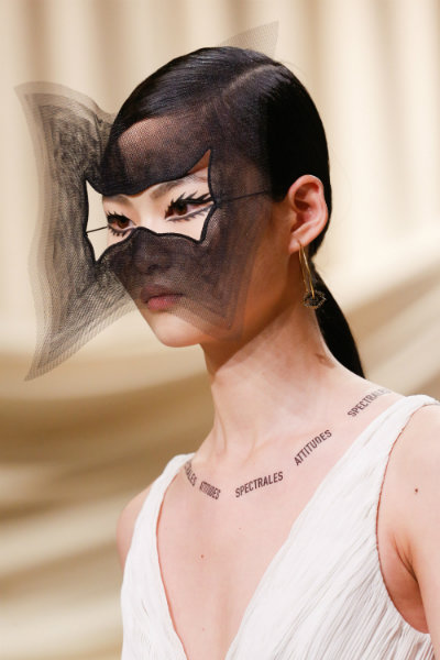 dior spring 2018 couture paris - masks