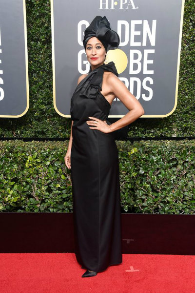 tracee ellis ross golden globes 2018 marc jacobs