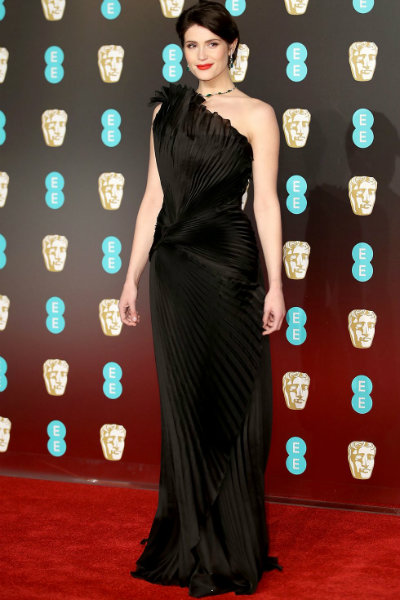 7_gemma artenton BAFTA 2018 red carpet