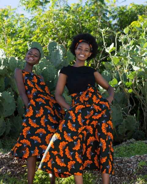 Wrap Midi Skirt_Sleeveless Midi Dress Green Lotus